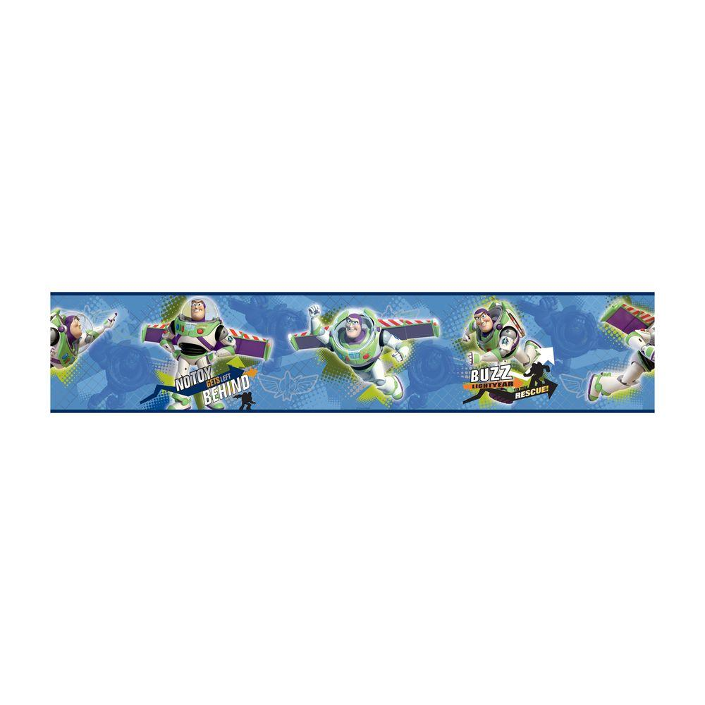 York Wallcoverings Kids Toy Story To The Rescue Wallpaper Border