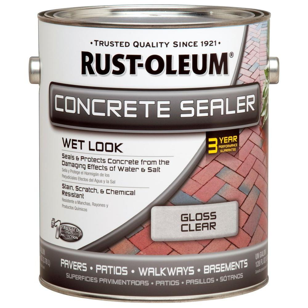 Rust-Oleum 1 gal. Concrete Wet Look Sealer (Case of 2)