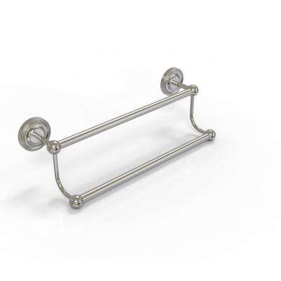 Prestige Regal Collection 24 in. Double Towel Bar in Satin Nickel