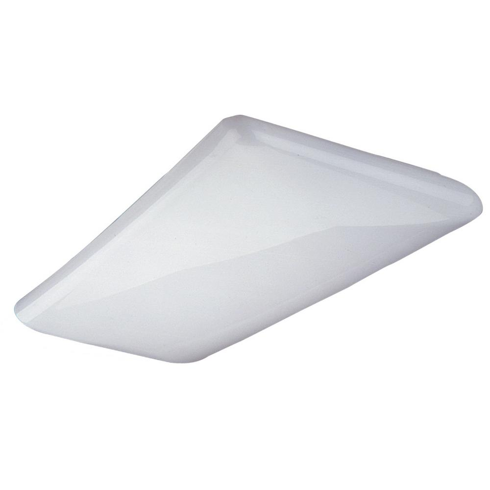 NICOR 225-Watt Equivalent White Integrated LED Designer Cloud Wraparound