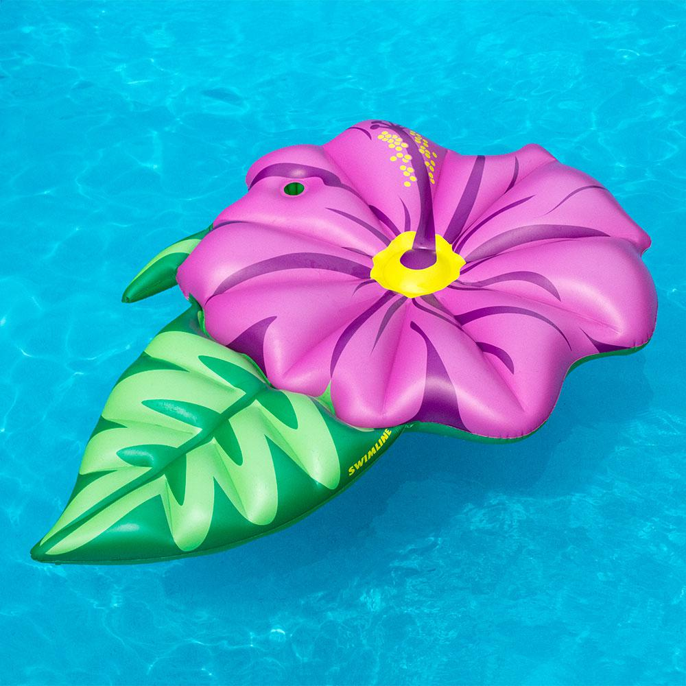 Swimline Hibiscus Flower Pool Float 90540ilp The Home Depot