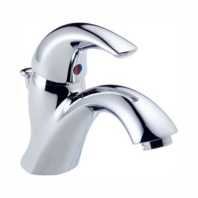 Classic Single Hole Single-Handle Bathroom Faucet in Chrome