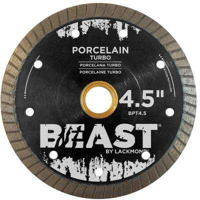 4.5 in. Turbo Hard Porcelain Blade 0.050 x 7/8 in. - 20 mm - 5/8 in. Wet/Dry