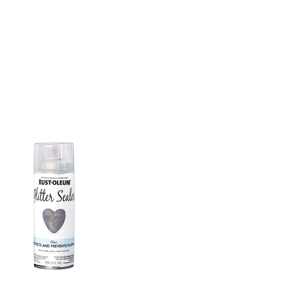 Rust-Oleum Specialty 10.25 oz. Clear Glitter Sealer Spray Paint