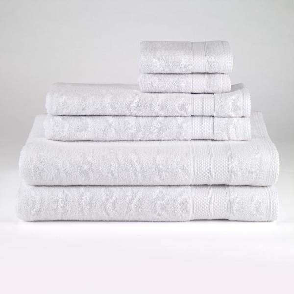 Avanti Linens Solid 6-Piece Towel Set in White 060856 WHT
