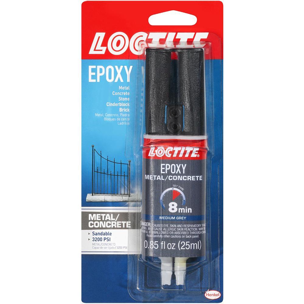 Metal and Concrete 0.85 fl. oz. Epoxy (8-Pack)