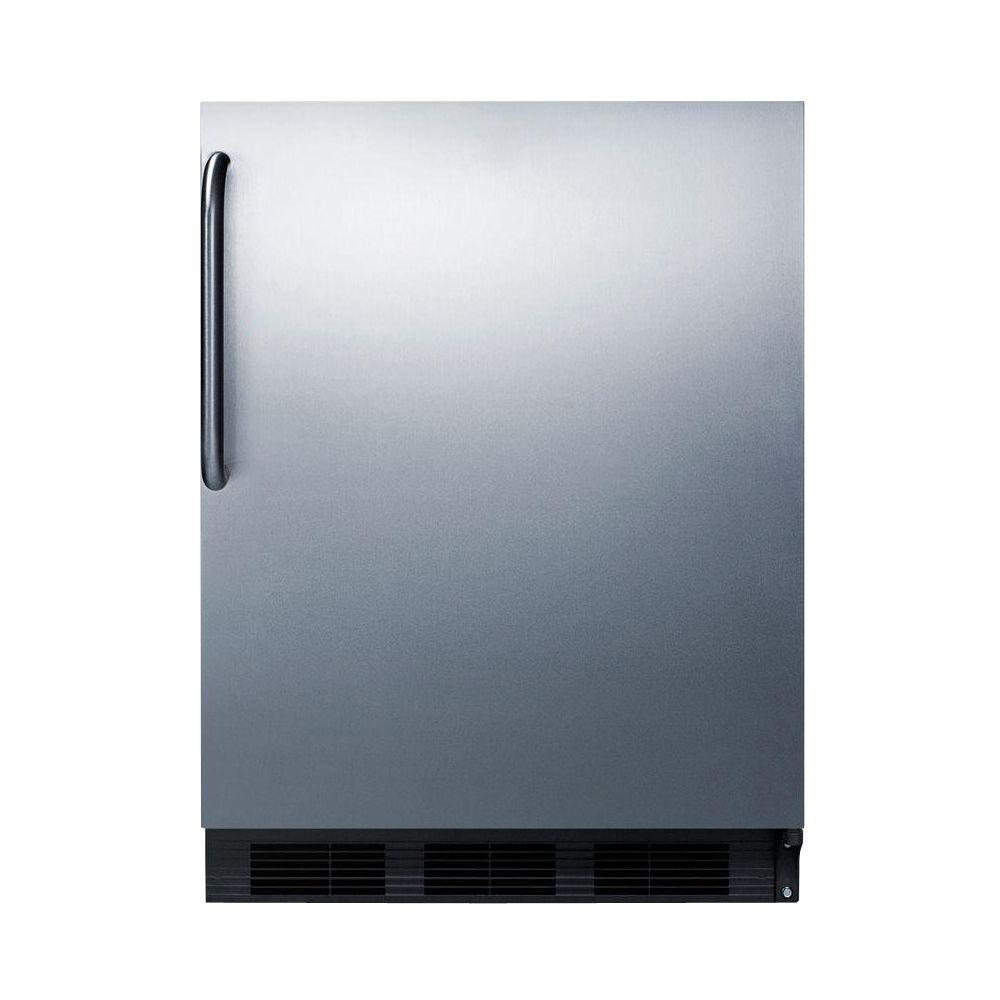 Charmant Summit Appliance 24 In. 5.5 Cu. Ft. Freezerless Refrigerator In Stainless  Steel