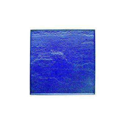 30 in. x 30 in. Lancaster Blue Stone Texture Stamp