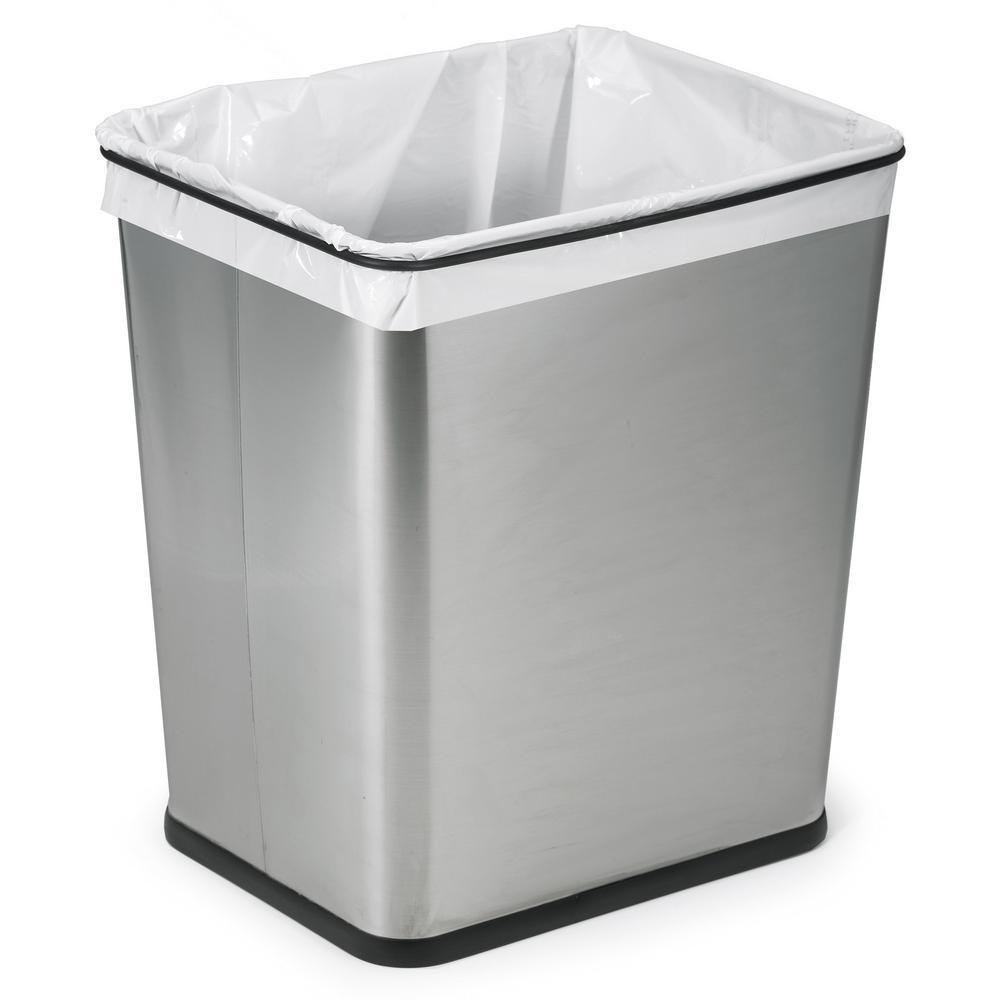 7-Gal. Under-Counter Waste Can Stainless Steel