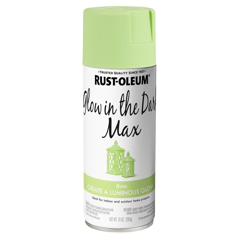 Rust Oleum Specialty 10 Oz Glow In The Dark Max Spray Paint