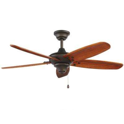 Altura 48 in. Indoor/Outdoor Oil-Rubbed Bronze Ceiling Fan