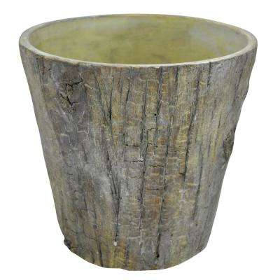 Wood Look Pot