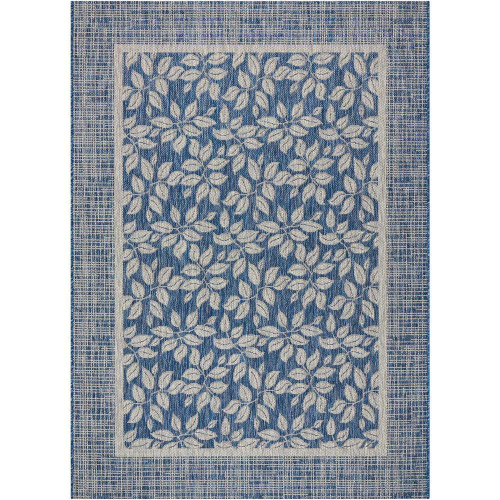 nourison country side denim 4 ft x 6 ft indoor outdoor area rug