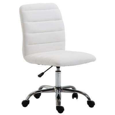 Polox White Task Chair