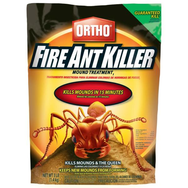 Ortho 3 Lbs Fire Ant Killer Mound Treatment 020550605 The Home Depot