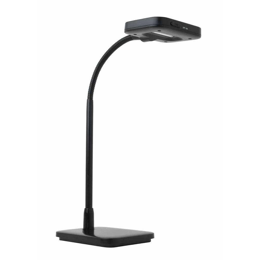 Eti 12 in. Black LED Desk Lamp-DISCONTINUED