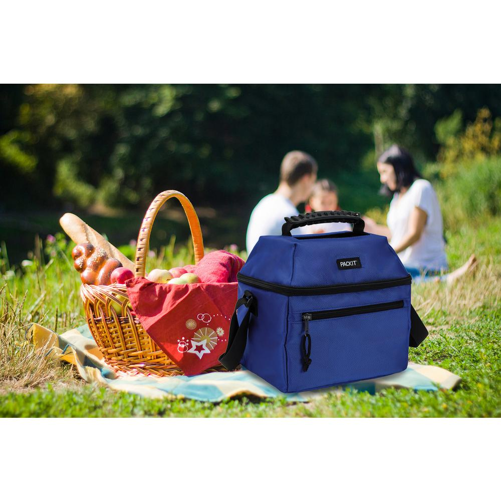 Cobalt Blue 18-Can Skylight Cooler