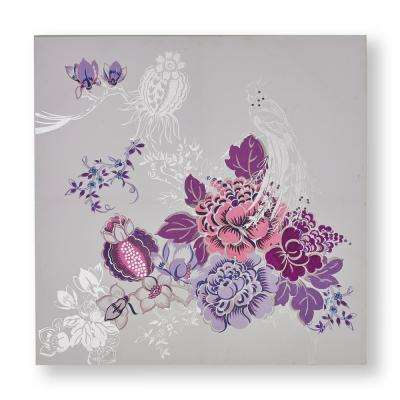 "31 in. x 31 in. ""Bijou Bliss"" Printed Canvas Wall Art"
