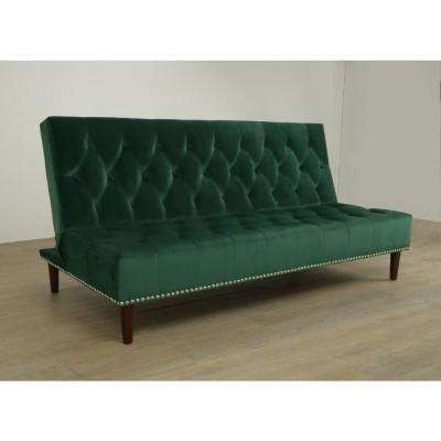 Green   Futons   Living Room Furniture   The Home Depot
