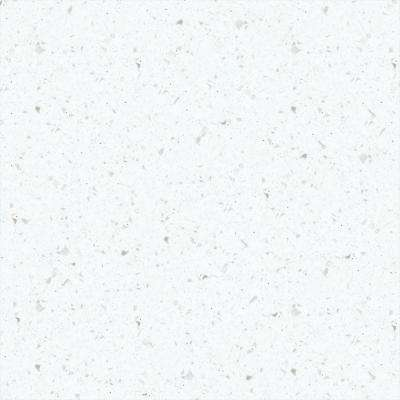 2 in. x 2 in. Solid Surface Countertop Sample in Ice Queen