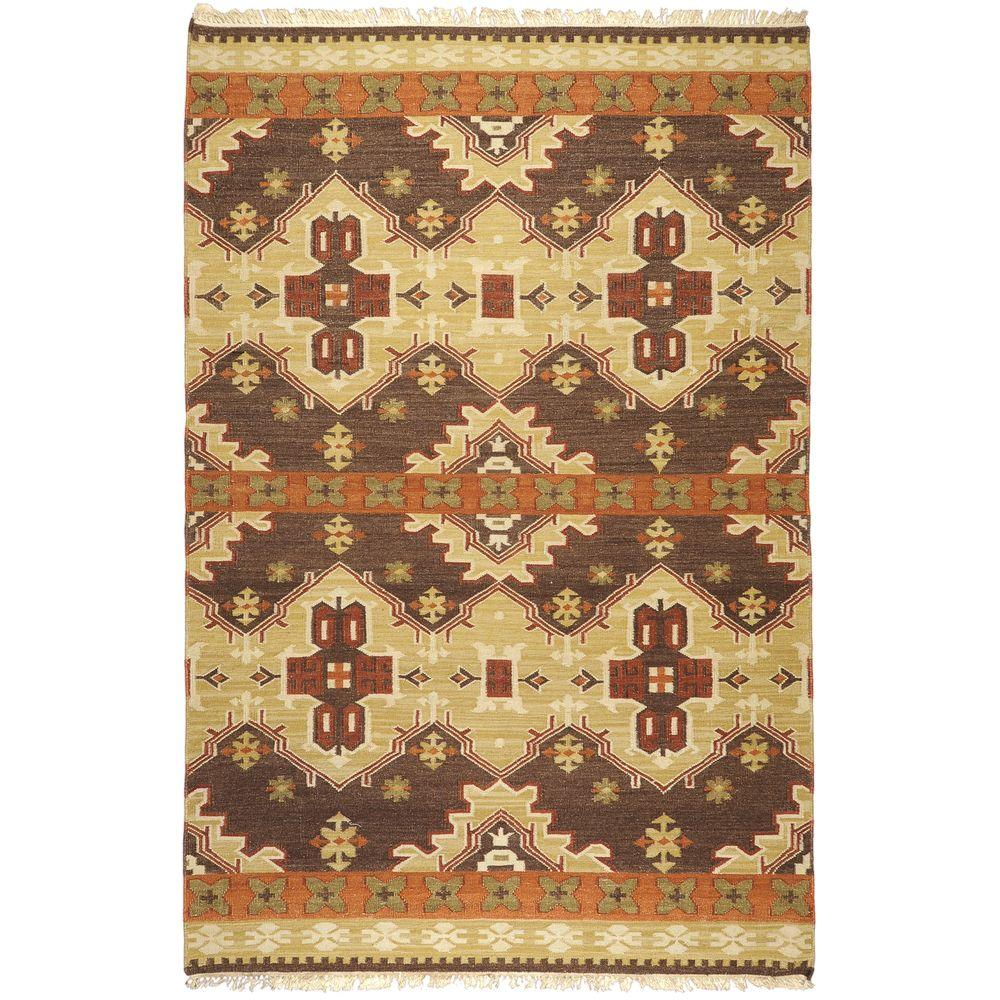 Maroa Taupe 8 ft. x 11 ft. Indoor Area Rug