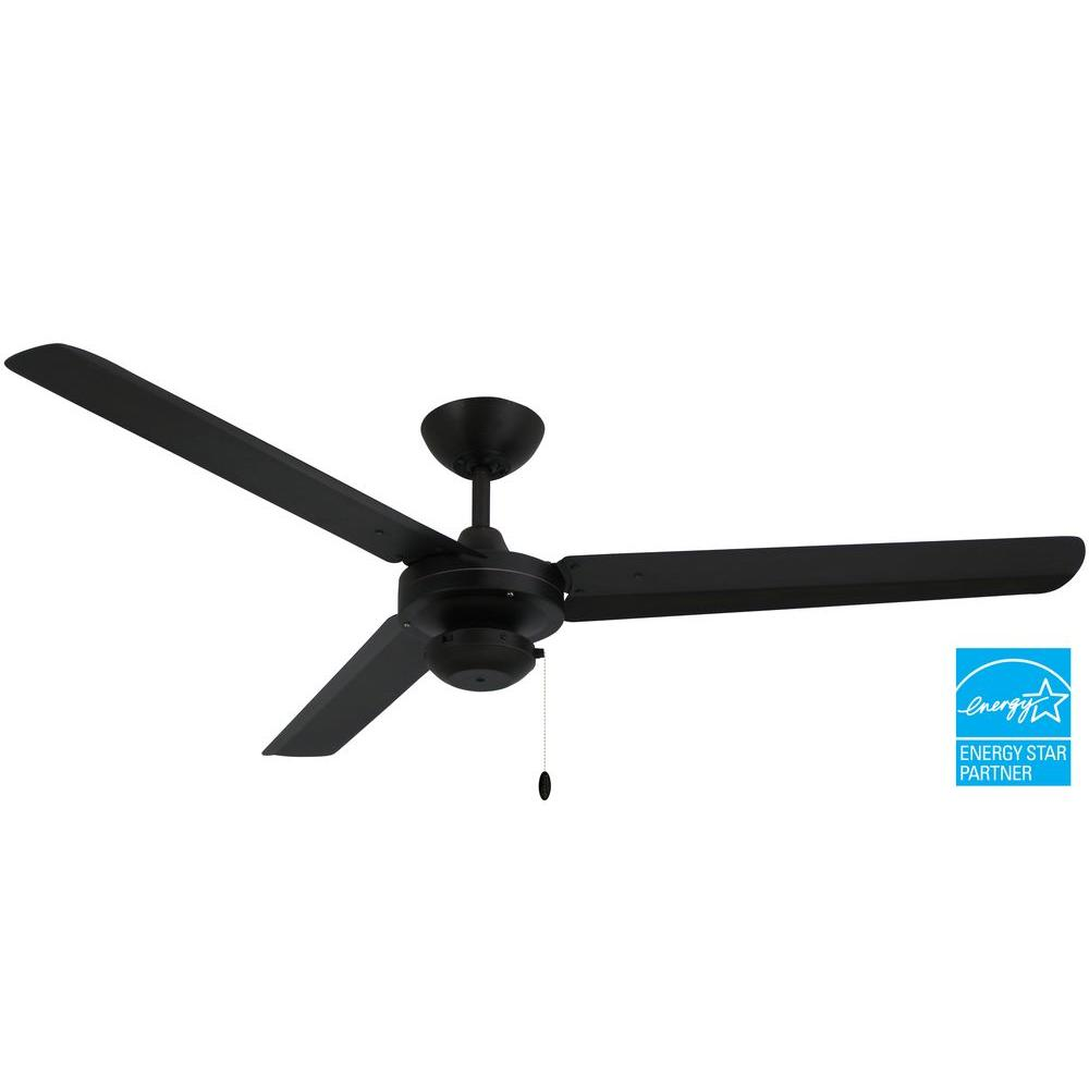 Troposair tornado 56 in stainless steel indooroutdoor ceiling fan stainless steel indooroutdoor ceiling fan 88460 the home depot aloadofball Images