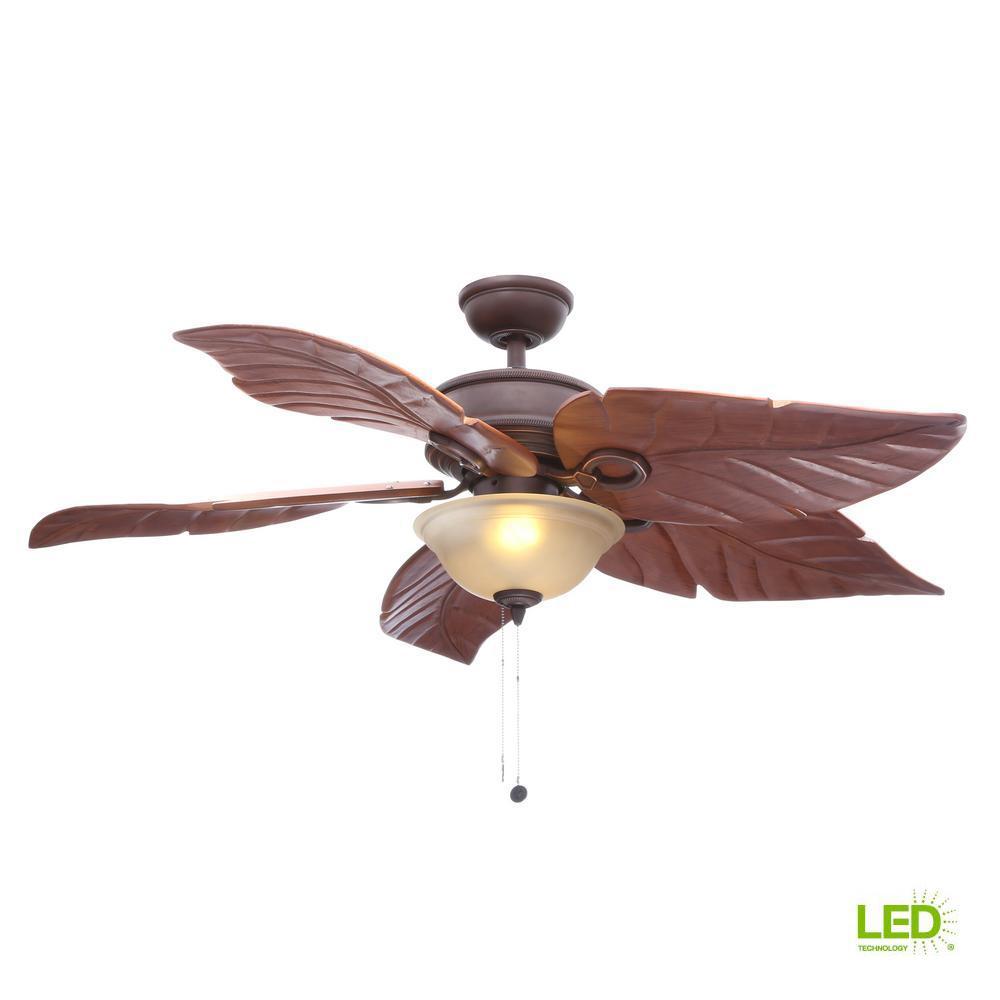 Hampton Bay Costa Mesa 56 In. LED Indoor/Outdoor