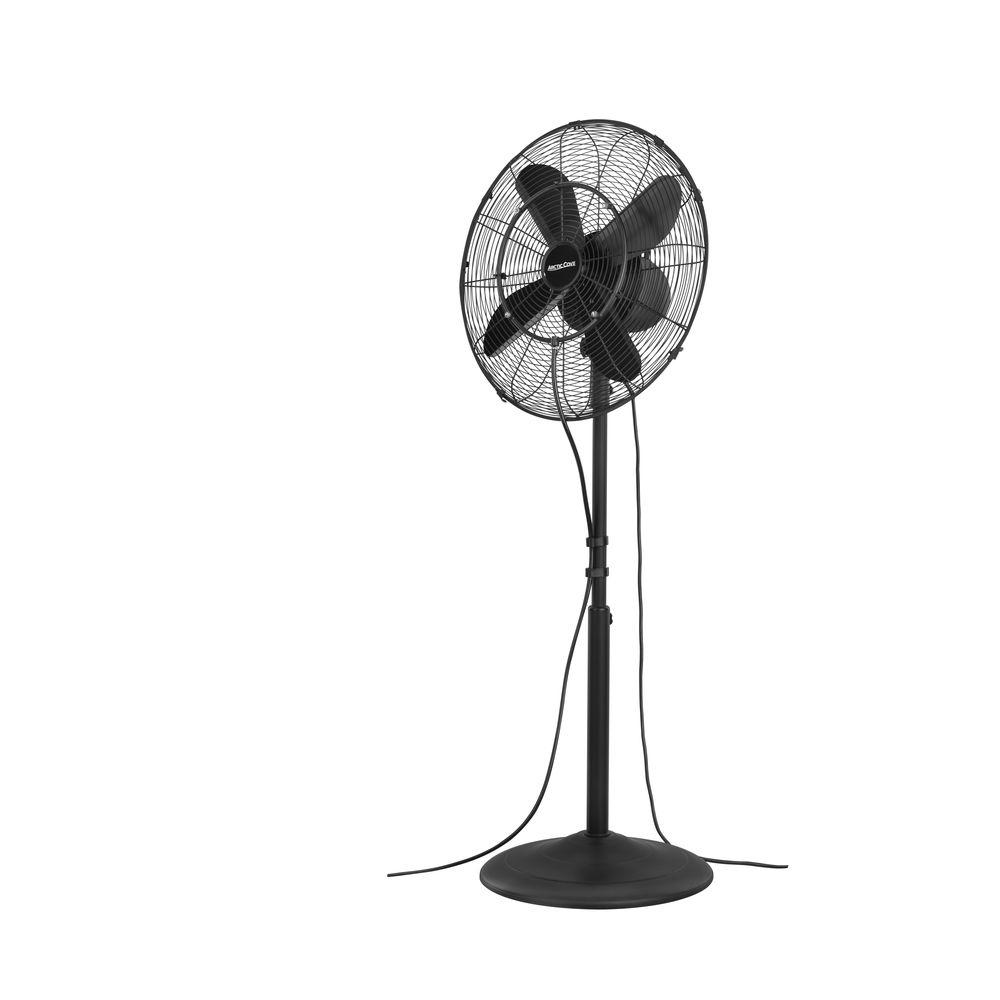 Pool Side Misting Fans : Arctic cove in speed oscillating misting fan modf