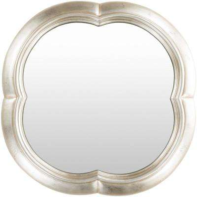 Galey 30 in. x 30 in. Polyurethane Framed Mirror