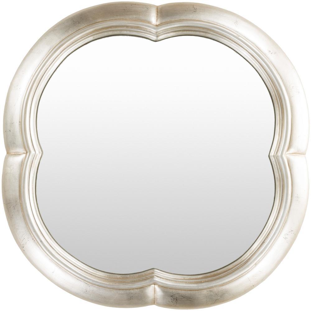 Galey 30 in. x 30 in. Polyurethane Framed Mirror