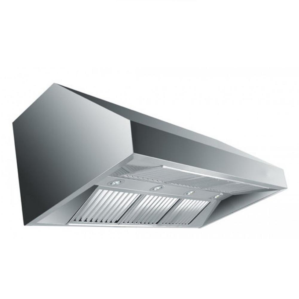Zline Kitchen And Bath Zline 36 In. 1200 Cfm Under Cabinet Range Hood In Stainless Steel (silver)
