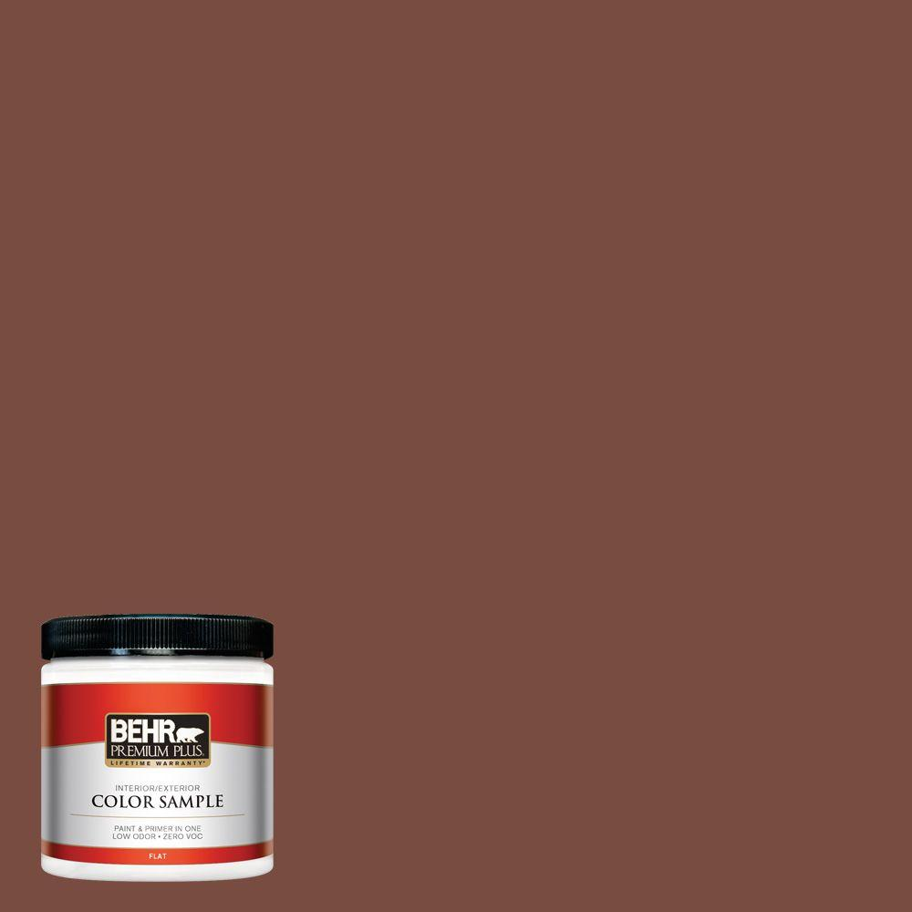 8 oz. #S170-7 Dark Cherry Mocha Interior/Exterior Paint Sample