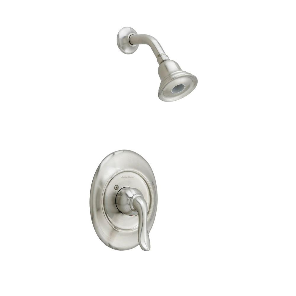 American Standard Princeton FloWise Pressure Balance 1-Handle Shower Faucet Trim Kit in Brushed Nickel (Valve Sold Separately)