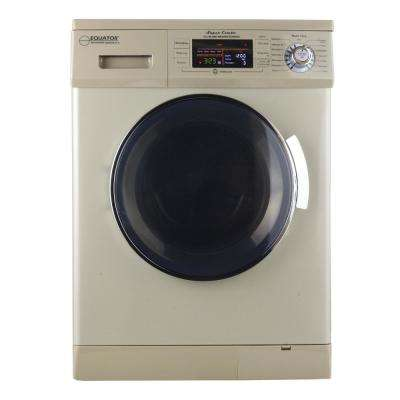 1.57 cu. ft. Gold High Efficiency Vented / Ventless Electric All-in-One Washer Dryer Combo