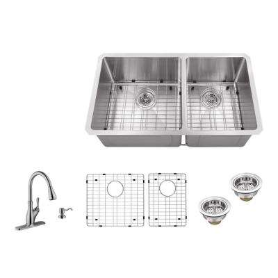 Brushed Stainless Steel - Kitchen Sinks - Kitchen - The Home Depot
