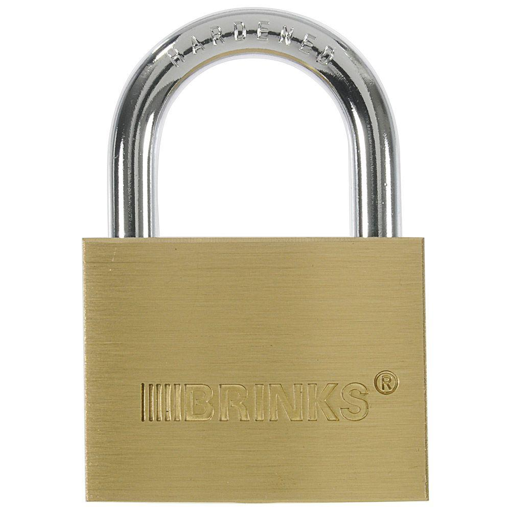 2 in. (50 mm) Solid Brass Keyed Lock
