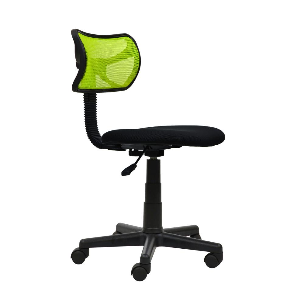 Techni Sport Lime Student Mesh Task Office Chair-RTA-M42-LM - The Home  Depot