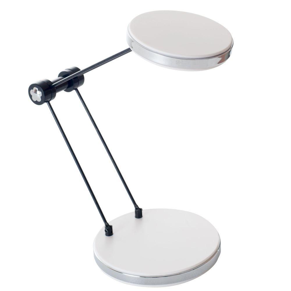 12.5 in. White LED Foldable Desk Lamp