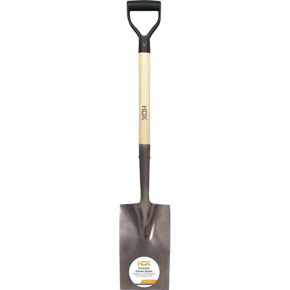 Exceptional D Handle Garden Spade