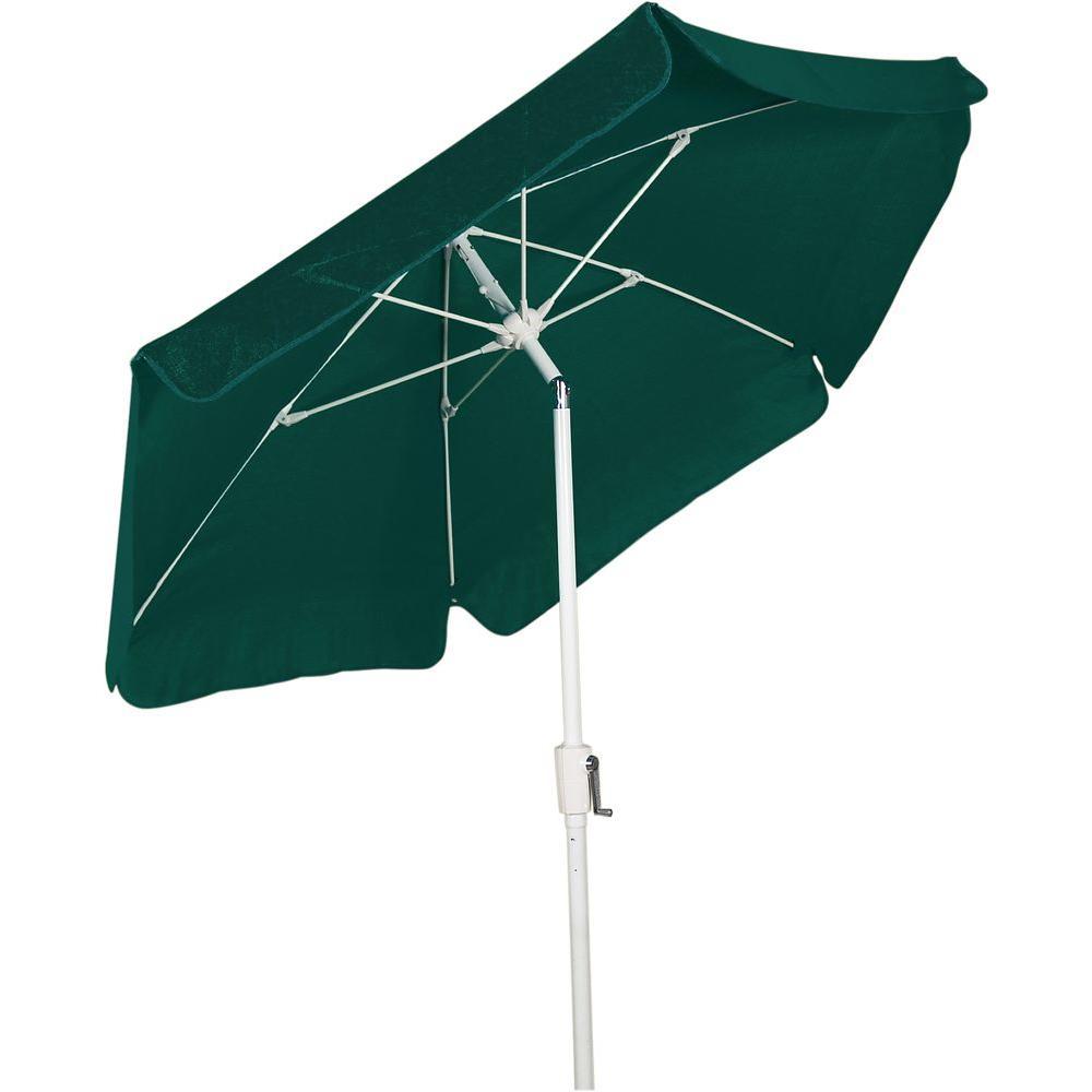 Fiberbuilt Umbrellas 7.5 ft. Patio Umbrella in Forest Green