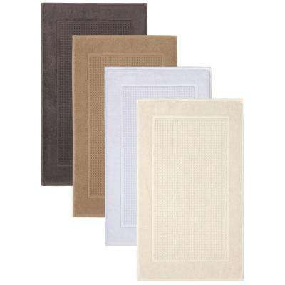 Fairhope Turkish Almond 20 in. x 34 in. Bath Mat