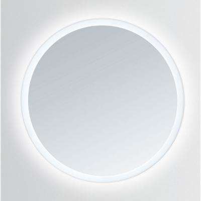 Apollo 36 in. x 36 in. Round LED Mirror