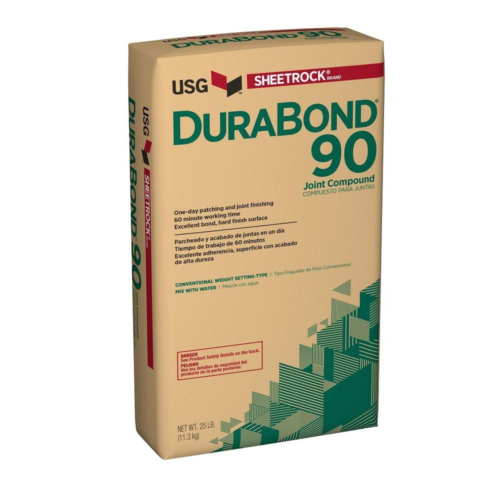 sheetrock brand durabond 90 25 lb setting type joint compound