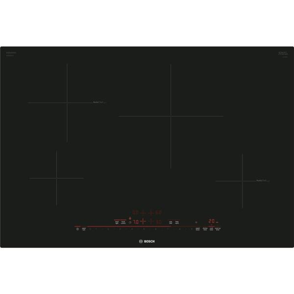 800 Series 30 in. Induction Cooktop in Black with 4 Elements
