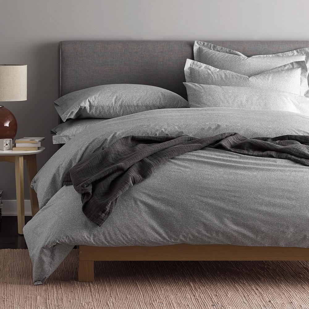 Lofthome Maze Organic Percale Duvet Cover