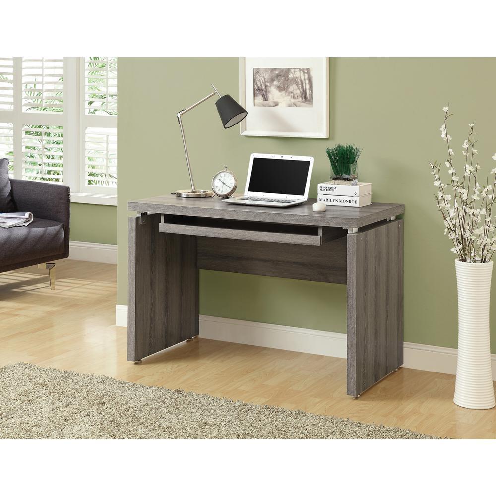 Dark Taupe Desk