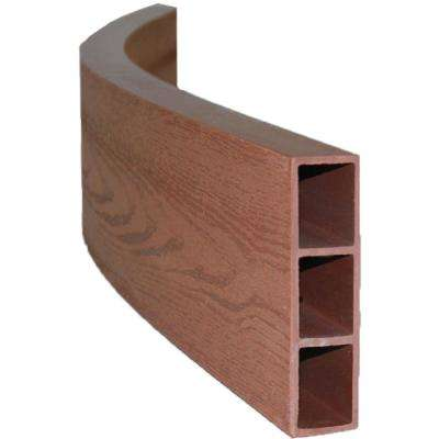 Two Inch Series 48 in. x 5.5 in. x 2 in. Classic Sienna Curved Composite Boards