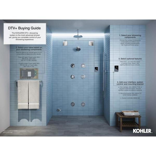 Kohler Invigoration 11kw Steam Bath Generator K 5531 Na The Home Depot
