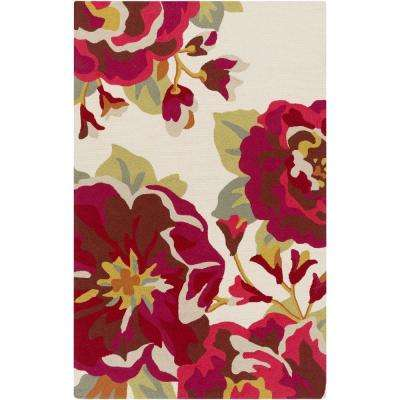 Rafael Cherry 9 ft. x 12 ft. Indoor/Outdoor Area Rug