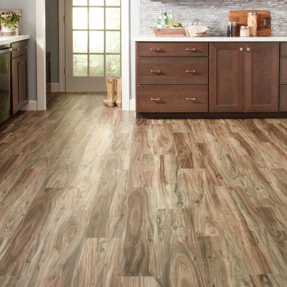Rigid Core Luxury Vinyl Plank Flooring, How Much Is Laminate Flooring At Home Depot